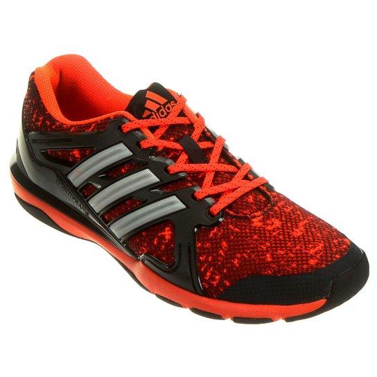 1d7e81e6526 Tênis Adidas Cage Elite - Chumbo+Laranja