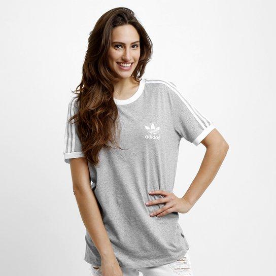 db8a1587b925c Camiseta Adidas 3 Stripes - Compre Agora