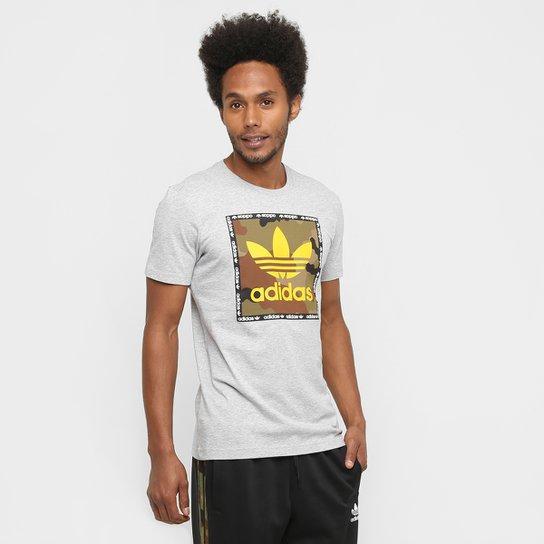 b8e3cc134b5 Camiseta Adidas Originals Camo Box - Compre Agora