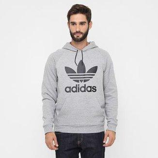 28997591197 Moletom Adidas Trefoil Hoody c  Capuz