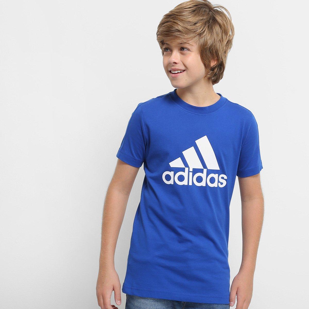 Camiseta Infantil Adidas Mc Yb Masculina