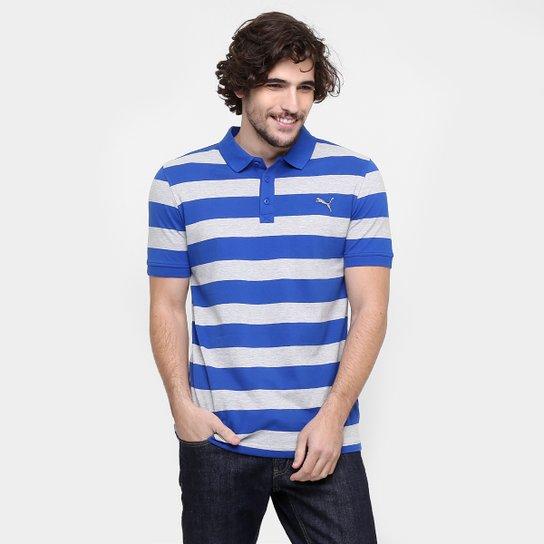 Camisa Polo Puma Ess Striped Pique - Compre Agora  92e481582b029