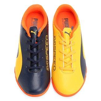 acb6e2e44d640 Chuteira Futsal Infantil Puma Evospeed 17.5 Tricks IT