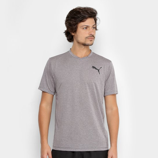 a8effa57a2 Camiseta Puma Essential Puretech Heather T Masculina - Compre Agora ...