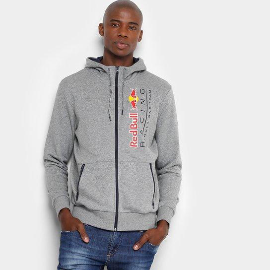 Jaqueta Puma Red Bull Racing Sweat Masculina - Cinza - Compre Agora ... 6652a3f3055