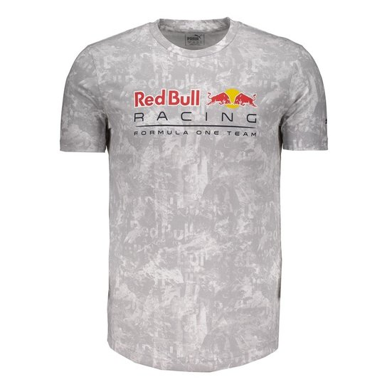 Camiseta Puma Red Bull Racing Allover - Compre Agora  37247b0fcaf99