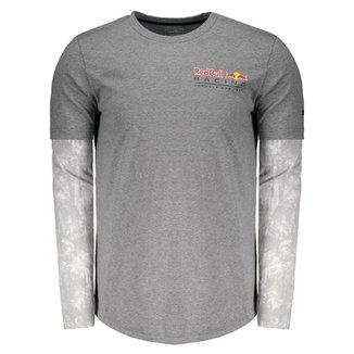 Camiseta Puma Red Bull Racing F1 Team Manga Longa 2e59767a21e