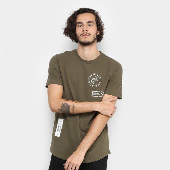 Camiseta Puma Winter Red Bull Racing Masculina - Compre Agora  58144fde807