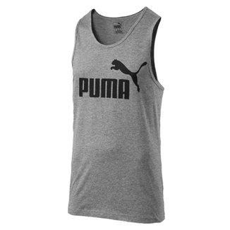 Camiseta Regata Masculina Ess No.1 Tank - Puma 845a361f1bdd9