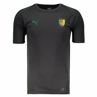 Camisa Puma Camarões Treino 2018 Masculina fa84e33942327