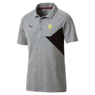 Camiseta Polo Puma Scuderia Ferrari Masculina 89d64776520