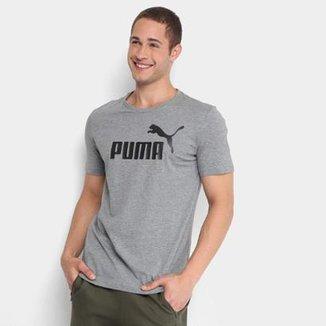Camiseta Puma Essentials Logo Masculina 4001fecd99f34