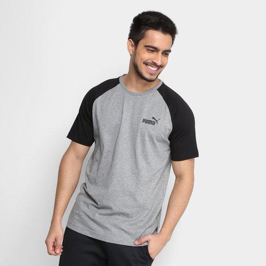 Camiseta Puma ESS+ Raglan Masculina - Compre Agora Netshoes 612c30f43c0091  ... 0c988418e27f6
