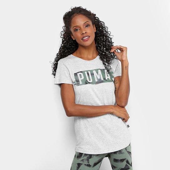 Camiseta Puma Fusion Graphic Feminina - Compre Agora  71cc982d8b3bb