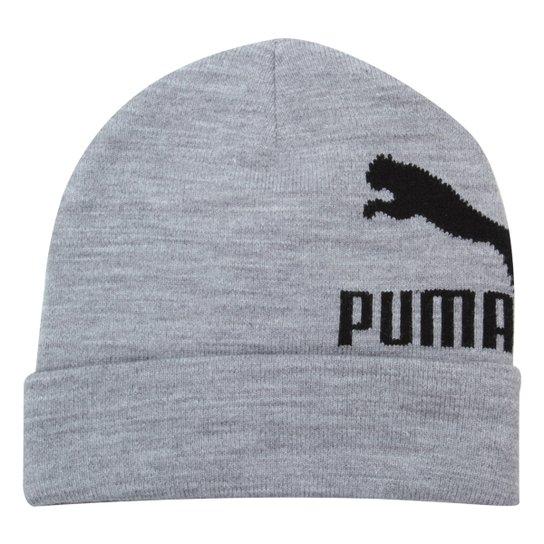 7d6a38a9cd960 Gorro Puma Archive Logo Beanie Masculino - Cinza - Compre Agora ...