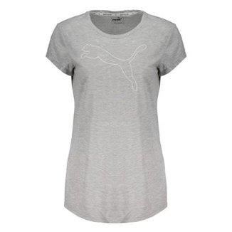Compre Camiseta Feminina Puma Online  db0a12003a9fe