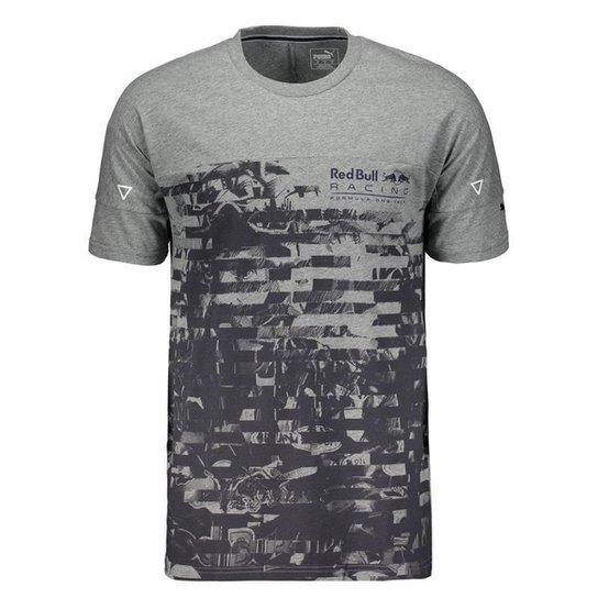 Camiseta Puma Red Bull Racing Life Graphic Masculina - Compre Agora ... f8dd24dc413