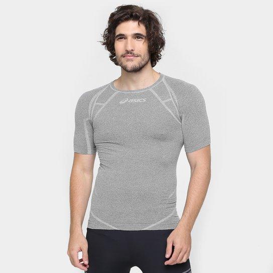18933ff6d5 Camiseta Asics Seamless Masculina - Cinza - Compre Agora