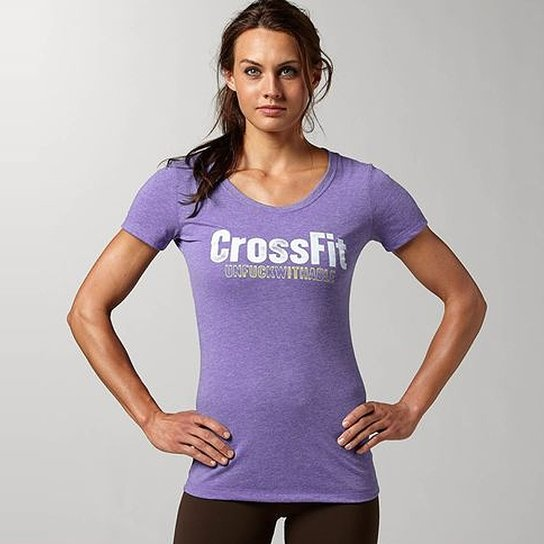 9dcc7866f Camiseta Reebok Crossfit Graphic Unfuckwithable Tee - Compre Agora ...