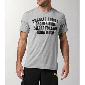 Camisetas Reebok Masculinas - Melhores Preços  ae621ca64aa08