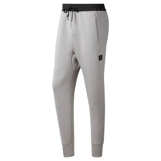 7f75b11b2b7 Calça Reebok Ts Knit Jogger Masculina - Cinza - Compre Agora
