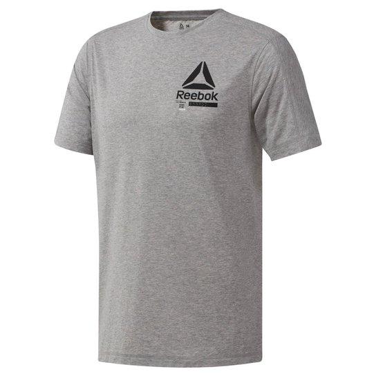 bc032dce9bd Camiseta Reebok Ost Speedwick Move Masculina - Cinza - Compre Agora ...