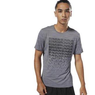 359d8d1aa Camiseta Reebok Running ACTIVCHILL Graphic Masculina