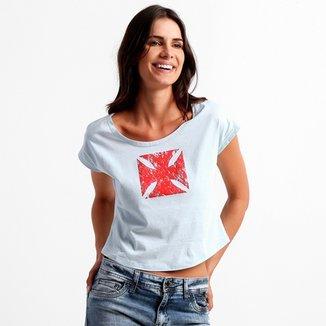 Camiseta Feminina Umbro Vasco Dual Badge 2a617a10fcf