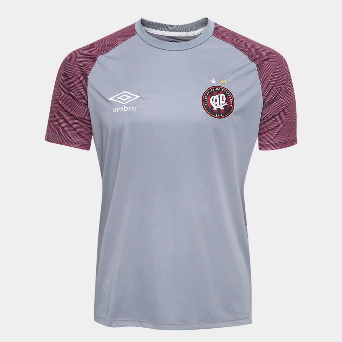 Camisa de Treino Atlético Paranaense 2018 Umbro Masculina bbf8560aab10b