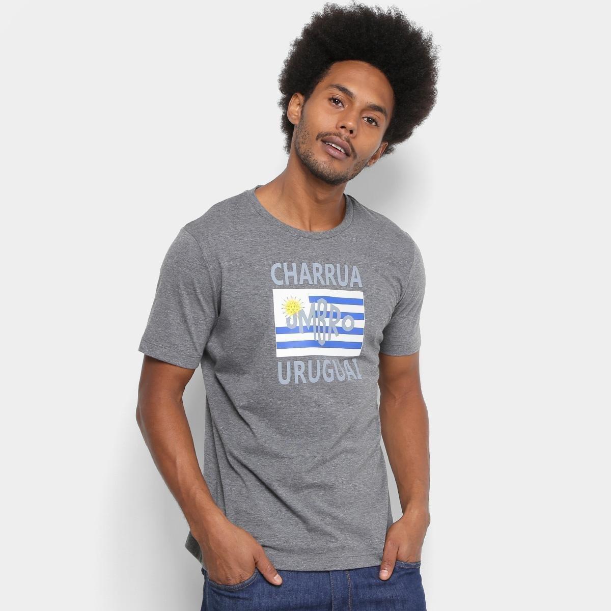Camiseta Grêmio Charrua Umbro Masculina