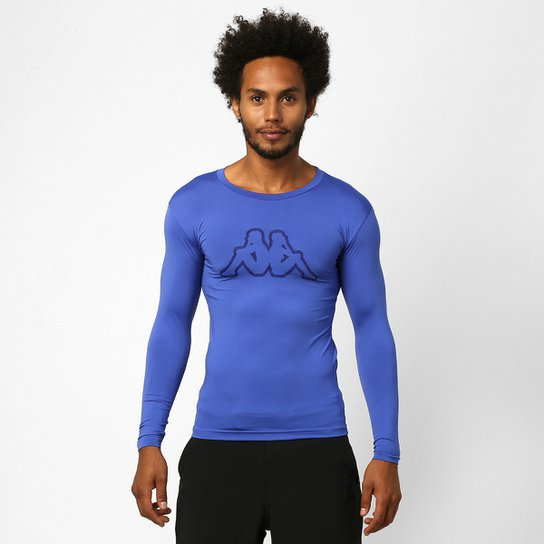 Camiseta Térmica Kappa Brondizio Manga Longa Masculina - Compre ... 89b61ff4b058d