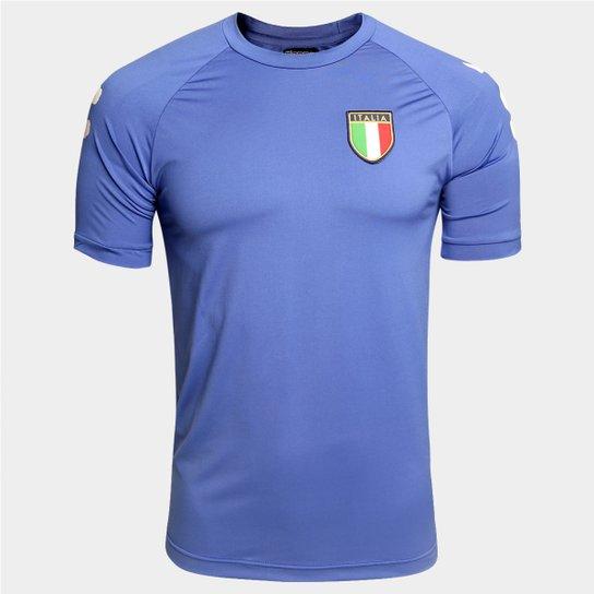 dace2e122a768 Camisa Itália Kappa Kombat Masculina - Compre Agora