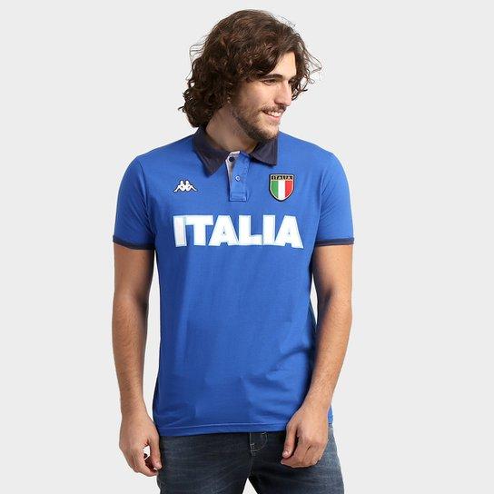 Camisa Polo Itália Kappa Bravas Masculina - Compre Agora  631466bd876ed