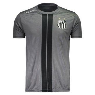 f44c419277 Camiseta Kappa Santos 2017 Dorval