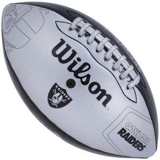 Bola de Futebol Americano Wilson Oakland Raiders Jr 9e954c2d314f8