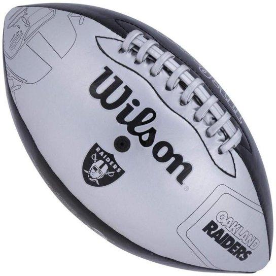 Bola de Futebol Americano Wilson Oakland Raiders Jr - Compre Agora ... 7c938c171e77e