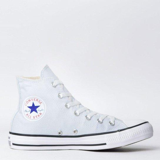 cb0e7a265c Tênis Converse Chuck Taylor All Star Seasonal Hi New - Cinza ...