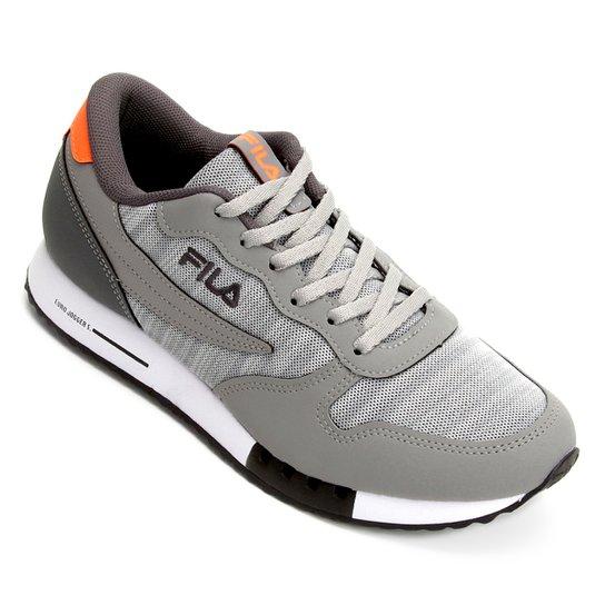 85090ffff92 Tênis Fila Jogger Euro Sport Masculino - Cinza - Compre Agora