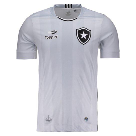 e89852acda Camisa Topper Botafogo III 2016 N° 10 - Cinza - Compre Agora