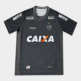 93500e1eb2 Camisa Atlético-MG Goleiro III 17 18 Manga Longa nº 1 - Torcedor ...