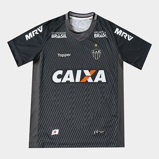 Camisa de Goleiro Atlético-MG I 2018 Infantil s n° Torcedor Topper bf8546b97c7e0