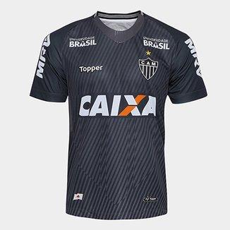 Camisa de Goleiro Atlético-MG I 2018 s n° Torcedor Topper Masculina e1d211d90ae3a