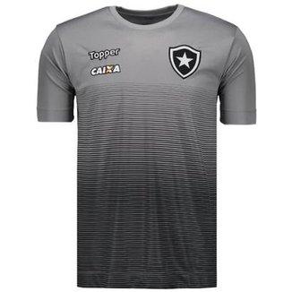 Camisa Topper Botafogo Concentração Comissão Técnica 2017 Masculina 44e08c3a8c691