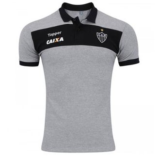 a005e5fc1b7ff Camisa Topper Polo Atlético Mineiro Viagem Masculina