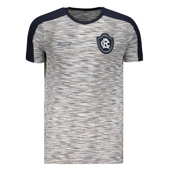 0255acac8f Camisa Topper Remo Concentração Comissão Técnica 2018 Masculina - Cinza
