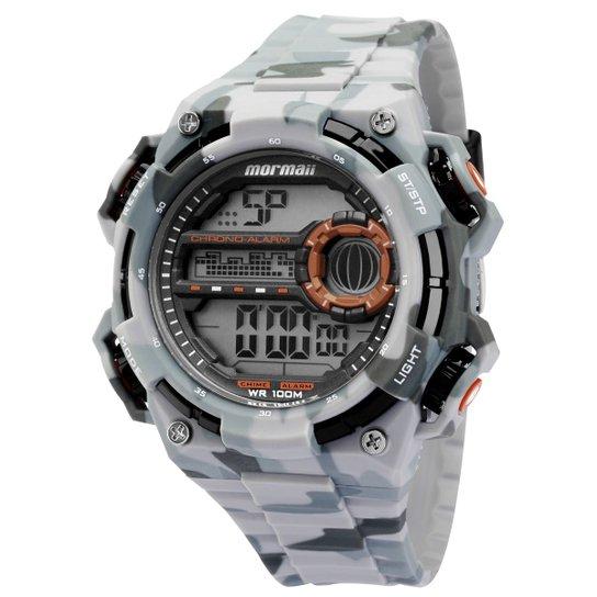 Relógio Masculino Mormaii MOYP41639A 8L - Cinza - Compre Agora ... 67653aa84b