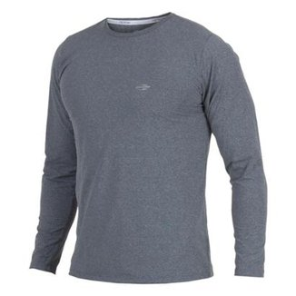 7071b7d0e8 Camiseta Mormaii Manga Longa Mescla Masculino UV Dry Flex