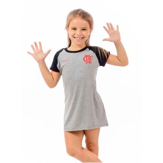 edd11c326b Vestido Flamengo Infantil Braziline Cool | Netshoes