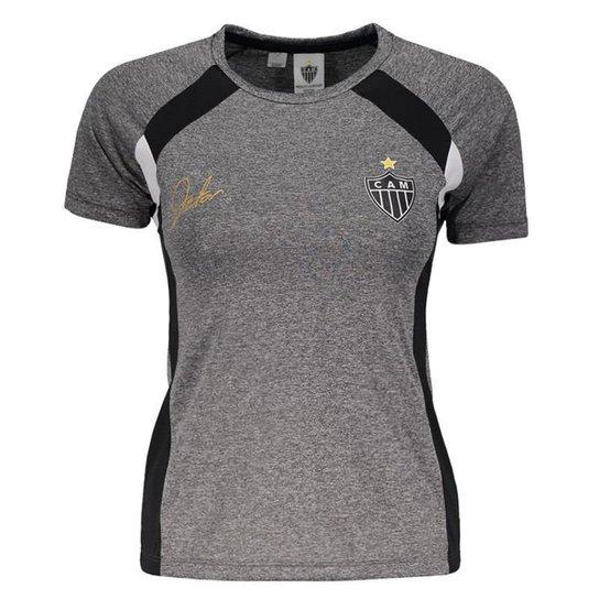 Camisa Atlético Mineiro Frey Feminina - Cinza - Compre Agora  8fd727ff0f7c3