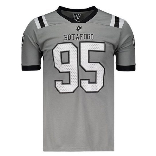 Camisa Botafogo Breed 95 Masculina - Cinza - Compre Agora  ba3135999d15b